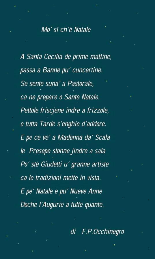 Poesie Di Natale In Dialetto Tarantino.Poesie Di Natale In Dialetto Tarantino Frismarketingadvies