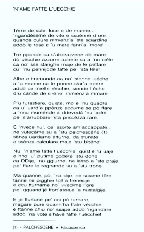 Poesie Di Natale In Dialetto Tarantino.Delfini Erranti Il Sito Dei Tarantini Sparsi Per Il Mondo